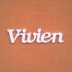 Vivien név felirat ajtóra vagy a gyermekszoba falára!