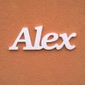 Alex név felirat ajtóra vagy a gyermekszoba falára!
