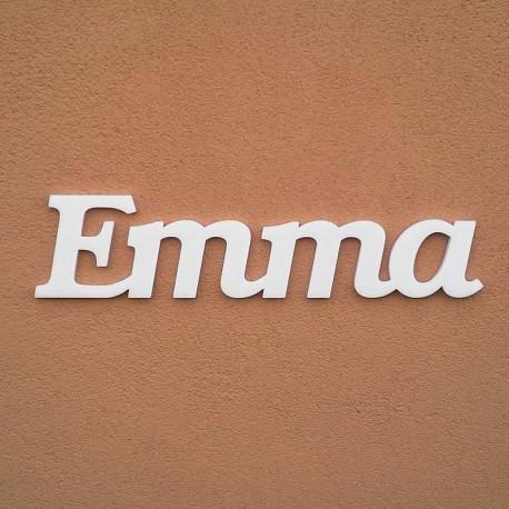 Emma név felirat ajtóra vagy a gyermekszoba falára!