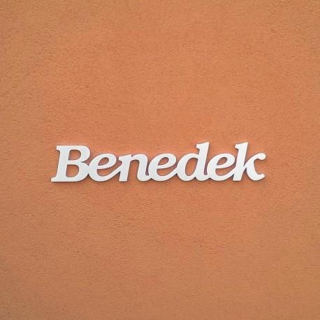 Benedek név felirat ajtóra vagy a gyermekszoba falára!