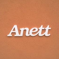 Anett név felirat ajtóra vagy a gyermekszoba falára!