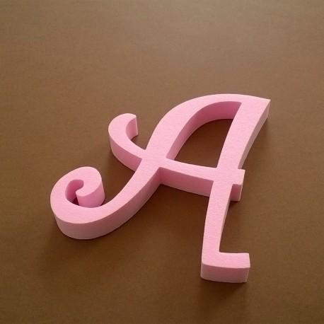 """""""A"""" dekorációs betű a TWISTY termékcsaládból."""