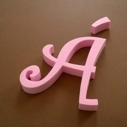 """""""Á"""" dekorációs betű a TWISTY termékcsaládból."""