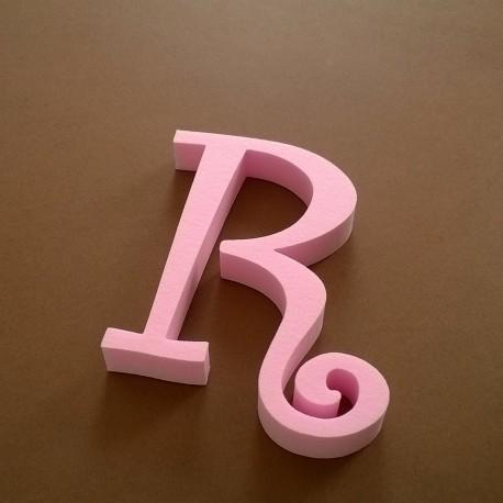 """""""R"""" dekorációs betű a TWISTY termékcsaládból."""