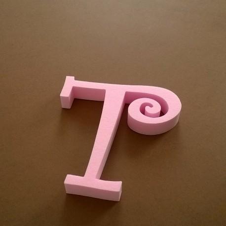 """""""T"""" dekorációs betű a TWISTY termékcsaládból."""