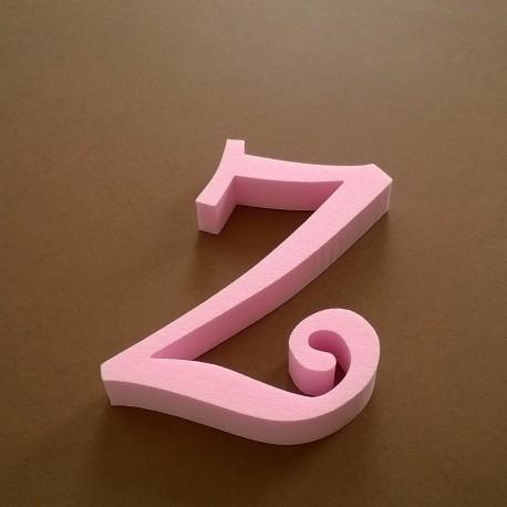 """""""Z"""" dekorációs betű a TWISTY termékcsaládból."""