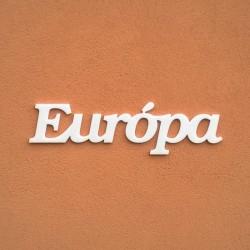 Európa felirat faldekorációs célra