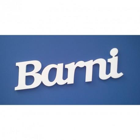 Barni név felirat ajtóra vagy a gyermekszoba falára!