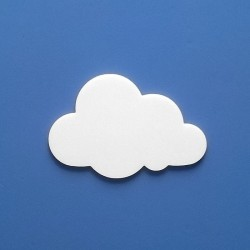 Lili felhőcske többféle választható méretben gyerekszoba dekorációnak!