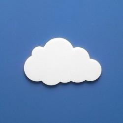 Kivi felhőcske többféle választható méretben gyerekszoba dekorációnak!