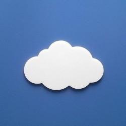 Biri felhőcske többféle választható méretben gyerekszoba dekorációnak!