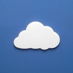 Lizi felhőcske többféle választható méretben gyerekszoba dekorációnak!