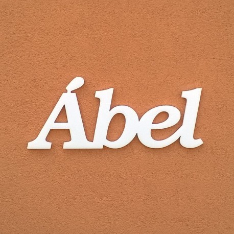 Ábel név felirat ajtóra vagy a gyermekszoba falára!