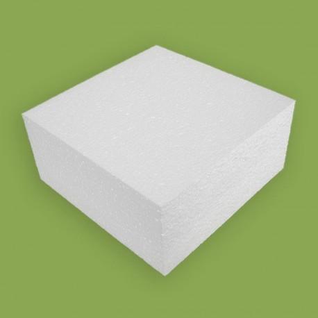 Hungarocell anyagból készült négyzet alapú forma