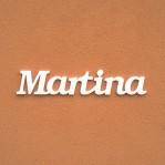 Martina név felirat ajtóra vagy a gyermekszoba falára!