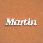 Martin név felirat ajtóra vagy a gyermekszoba falára!