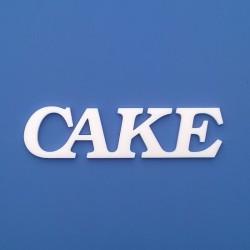 CAKE felirat faldekorációs célra