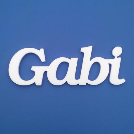 Gabi név felirat ajtóra vagy a gyermekszoba falára!