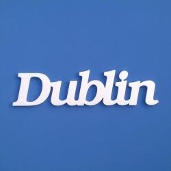 Dublin felirat faldekorációs célra