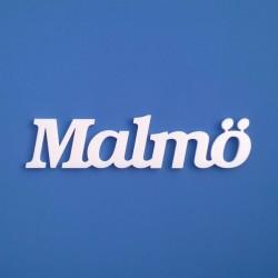 Malmö felirat faldekorációs célra