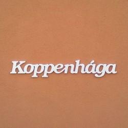 Koppenhága felirat faldekorációs célra