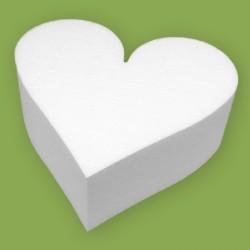 Hungarocell szív alakú forma