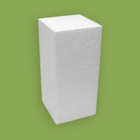 Hungarocell anyagból készített négyzet alapú hasáb forma