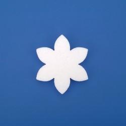 Hat szirmú virág hungarocell dekoráció többféle méretben!