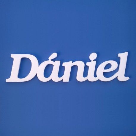 Dániel név felirat ajtóra vagy a gyermekszoba falára!