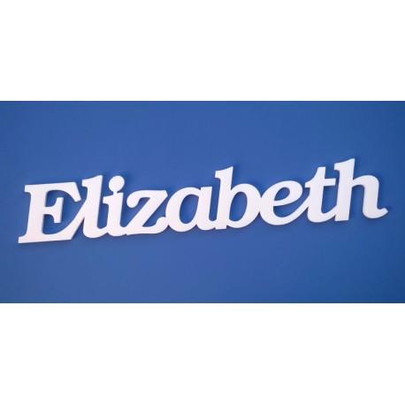 Elizabeth név felirat ajtóra vagy a gyermekszoba falára!