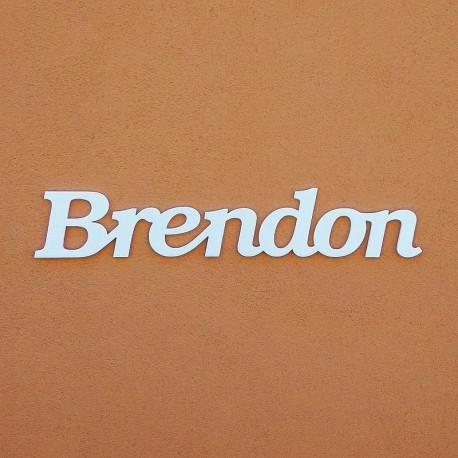 Brendon név felirat ajtóra vagy a gyermekszoba falára!