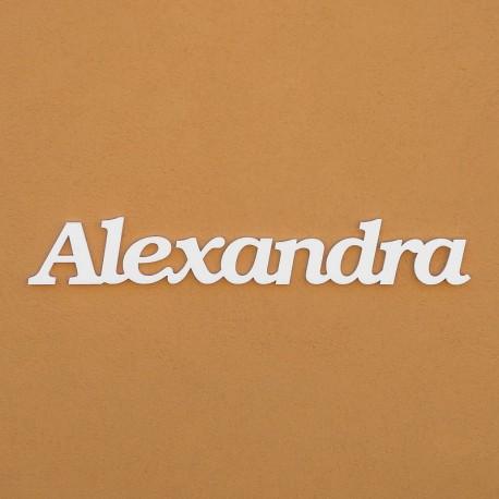 Alexandra név felirat ajtóra vagy a gyermekszoba falára!