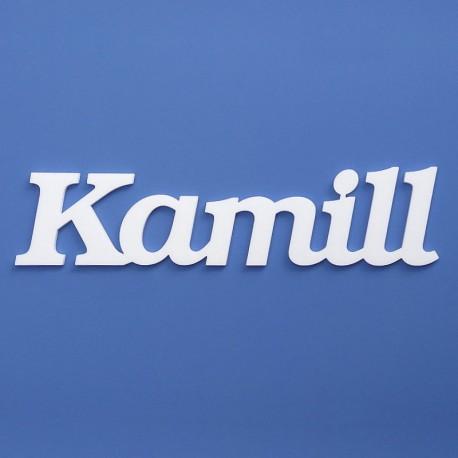 Kamill név felirat ajtóra vagy a gyermekszoba falára!