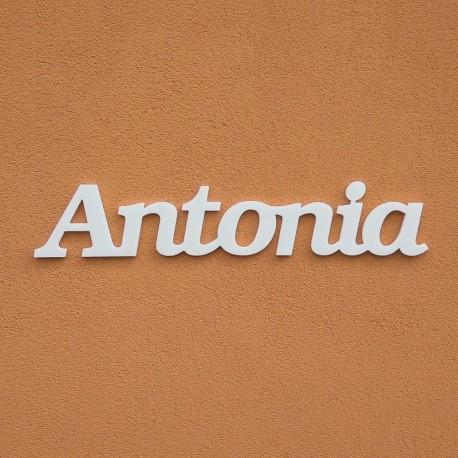 Antonia név felirat ajtóra vagy a gyermekszoba falára!