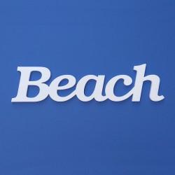 Beach felirat faldekorációs célra