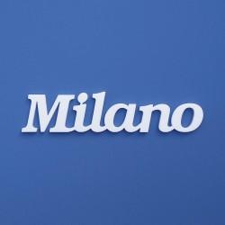 Milano felirat faldekorációs célra