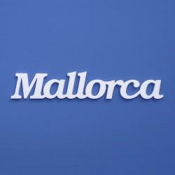 Mallorca felirat faldekorációs célra.