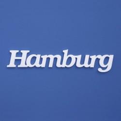 Hamburg felirat faldekorációs célra.