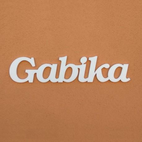 Gabika név felirat ajtóra vagy a gyermekszoba falára!