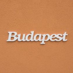Budapest felirat faldekorációs célra.