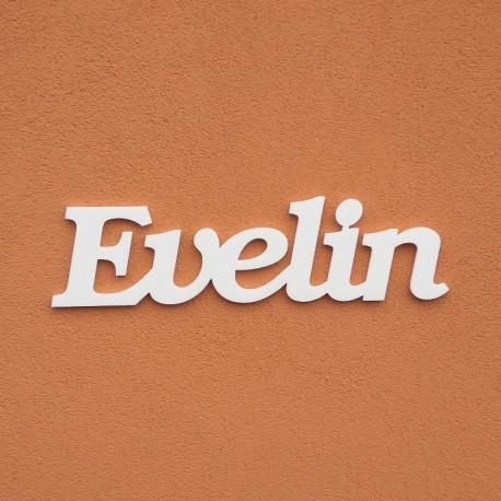 Evelin név felirat ajtóra vagy a gyermekszoba falára!