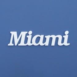 Miami felirat faldekorációs célra