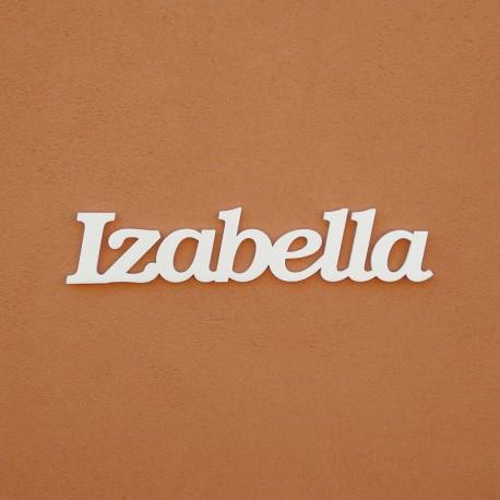 Izabella név felirat ajtóra vagy a gyermekszoba falára!