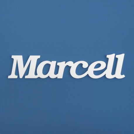 Marcell név felirat ajtóra vagy a gyermekszoba falára!