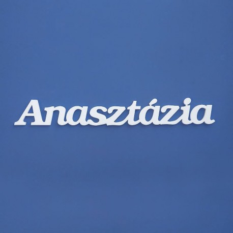 Anasztázia név felirat ajtóra vagy a gyermekszoba falára!
