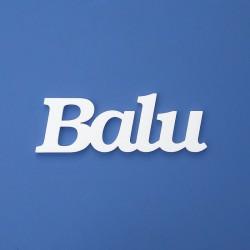 Balu név felirat ajtóra vagy a gyermekszoba falára!