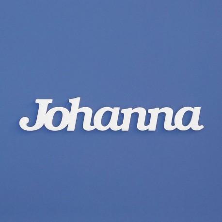 Johanna név felirat ajtóra vagy a gyermekszoba falára!