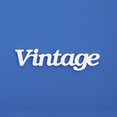 Vintage felirat faldekorációs célra