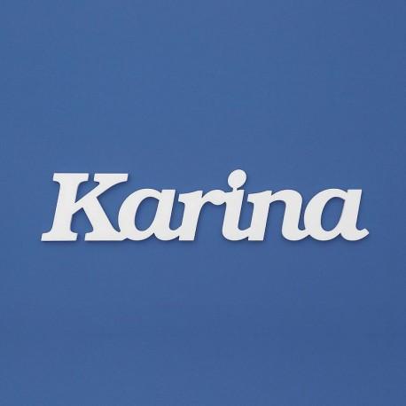 Karina név felirat ajtóra vagy a gyermekszoba falára!
