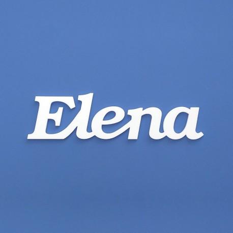 Elena név felirat ajtóra vagy a gyermekszoba falára!